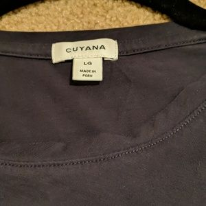 Cuyana Tops - Cuyana Classic Crewneck Tee in Navy